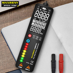 MAXRIENY S1 Smart Digital Multimeter EBTN Display Hidden Wire Tester Voltmeter LCD Voltage Detector Ohm Hz Continuity NCV Test