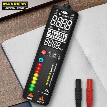 MAXRIENY S1 Smart Digital Multimeter EBTN Display Hidden Wire Tester Voltmeter LCD Voltage Detector Ohm Hz Continuity NCV Test