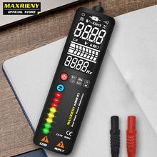 MAXRIENY S1 inteligentny cyfrowy multimetr wyświetlacz EBTN ukryty Tester przewodu woltomierz LCD czujnik napięcia Ohm Hz ciągłość NCV Test cheap ELECTRICAL CN (pochodzenie) ADMS1 ADMS1CL 400V Automatic operation mode Cyfrowy wyświetlacz 15*5*4 cm 0-40 ℃ 2000 counts