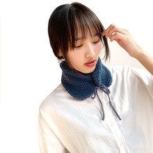 Зима, корейский стиль, искусственный мех, воротник, зимние женские толстые теплые наушники, многофункциональные, двойного назначения, шеи, теплые Болеро