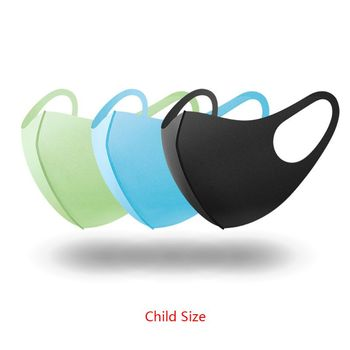 3Pc Sponge Mouth Mask Washable Dustproof Reusable anti-pollen Face Mask Adult Kid for Child Kids Health