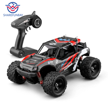 Купить с кэшбэком Rc car 1:16 hour speed 36km four-wheel drive climbing off-road racing alloy material ratio steering differential control 4wd rc