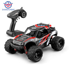 Rc car 1:16 hour speed 36km four-wheel drive climbing off-road racing alloy material ratio steering differential control 4wd rc(China)