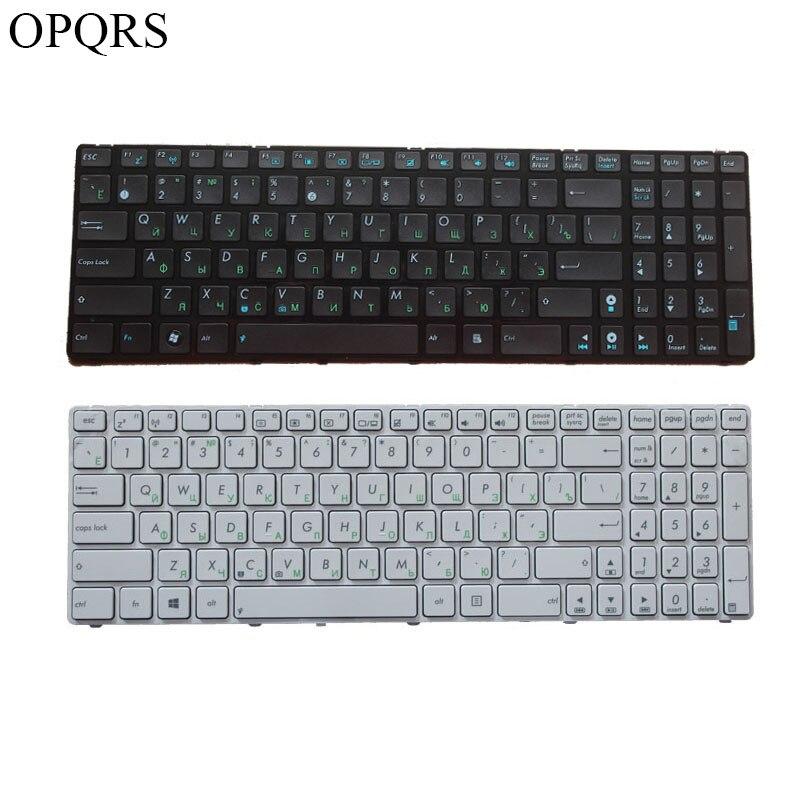 Русская клавиатура для ноутбука Asus K52 K52F K52DE K52D K52JB K52JC K52JE K52J K52N A72 A72D A72F A72J N50 N50V с черной рамкой RU
