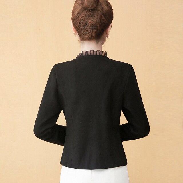 Long Sleeve Jacket Women Jackets For Women 2021 Beading Outwear Woman Jacket Cardigan Coat Women Autumn Winter Women Jacket D540 4