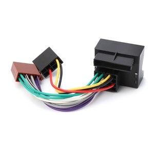 Автомобильный стерео радио ISO свинцовый кабель Соединительный адаптер для Peugeot 207 307 407 Jy25 19 Droship