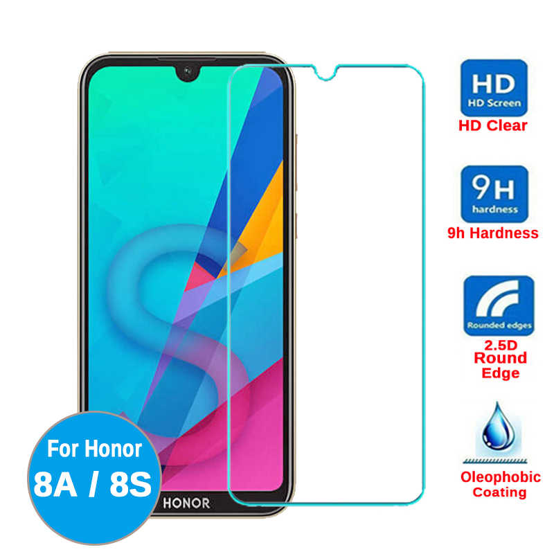 Voor Honor 8a Huawei Honor 8s Gehard Glas Beschermende Film Op Honor 8a KSE KSA LX9 Glas Honor 8s JAT L09 L29 Screen Protector