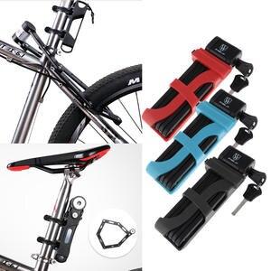 Link-Locks Safety-Lock Bike Folding Motorcycle Mountain-Road-Urban Anti-Theft MTB