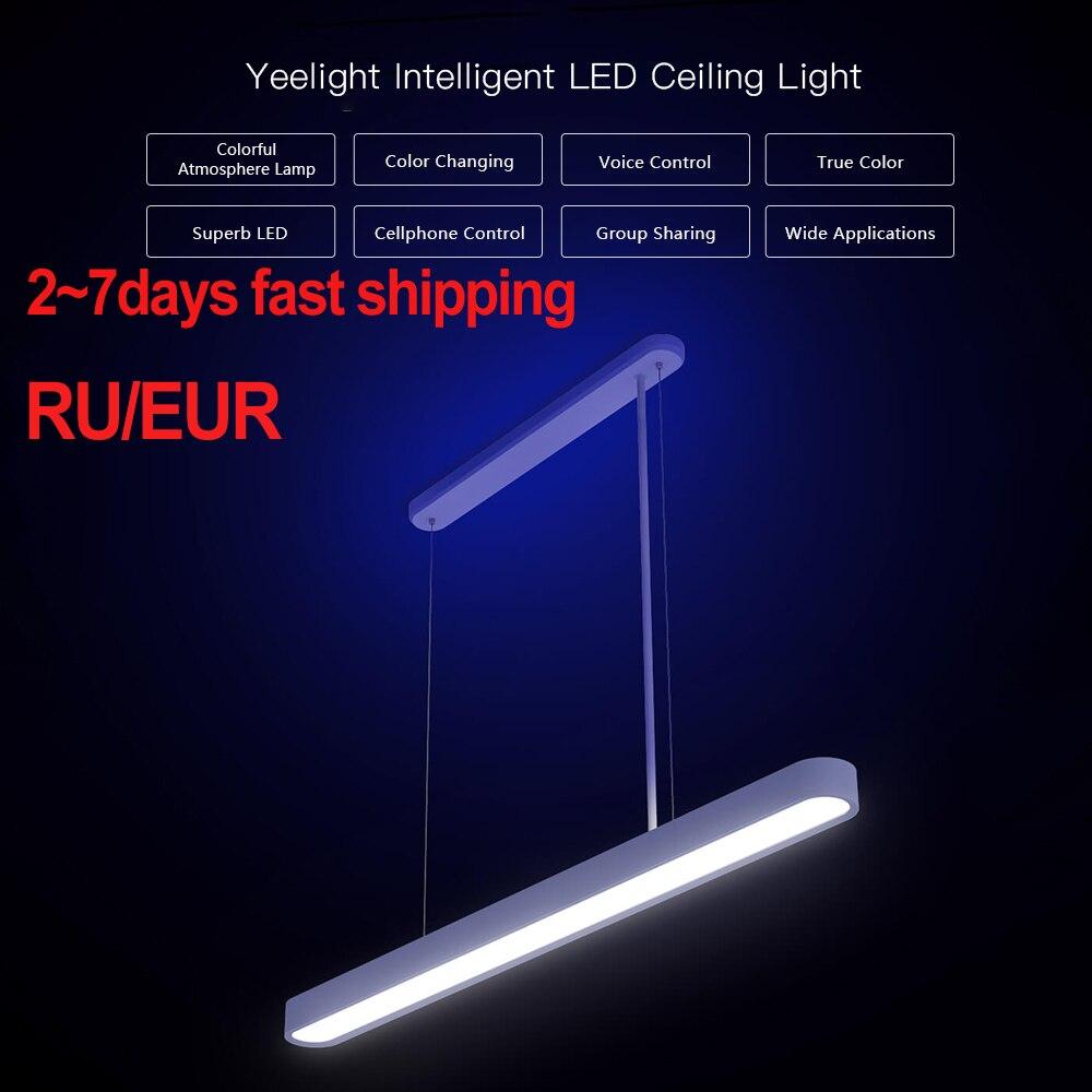 2020 Xiao Mi Yeelight Luce di Soffitto per Mi Jia Meteorite Intelligente a Led Ristorante Smart Cena Lampada da Lavoro Lampada da Soffitto con Mi casa App
