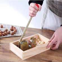 Manuelle macadamia mutter opener mutter cracker maschine Nussbaum Nussknacker mutter scheller werkzeug Küche Zubehör