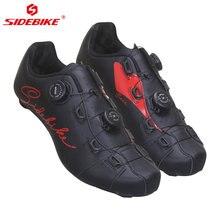 Мужские велосипедные туфли sidebike Нескользящие дышащие с верхом