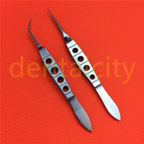 titanio akahoshi phaco prechopper curvocabeca reta instrumento oftalmico alta qualidade