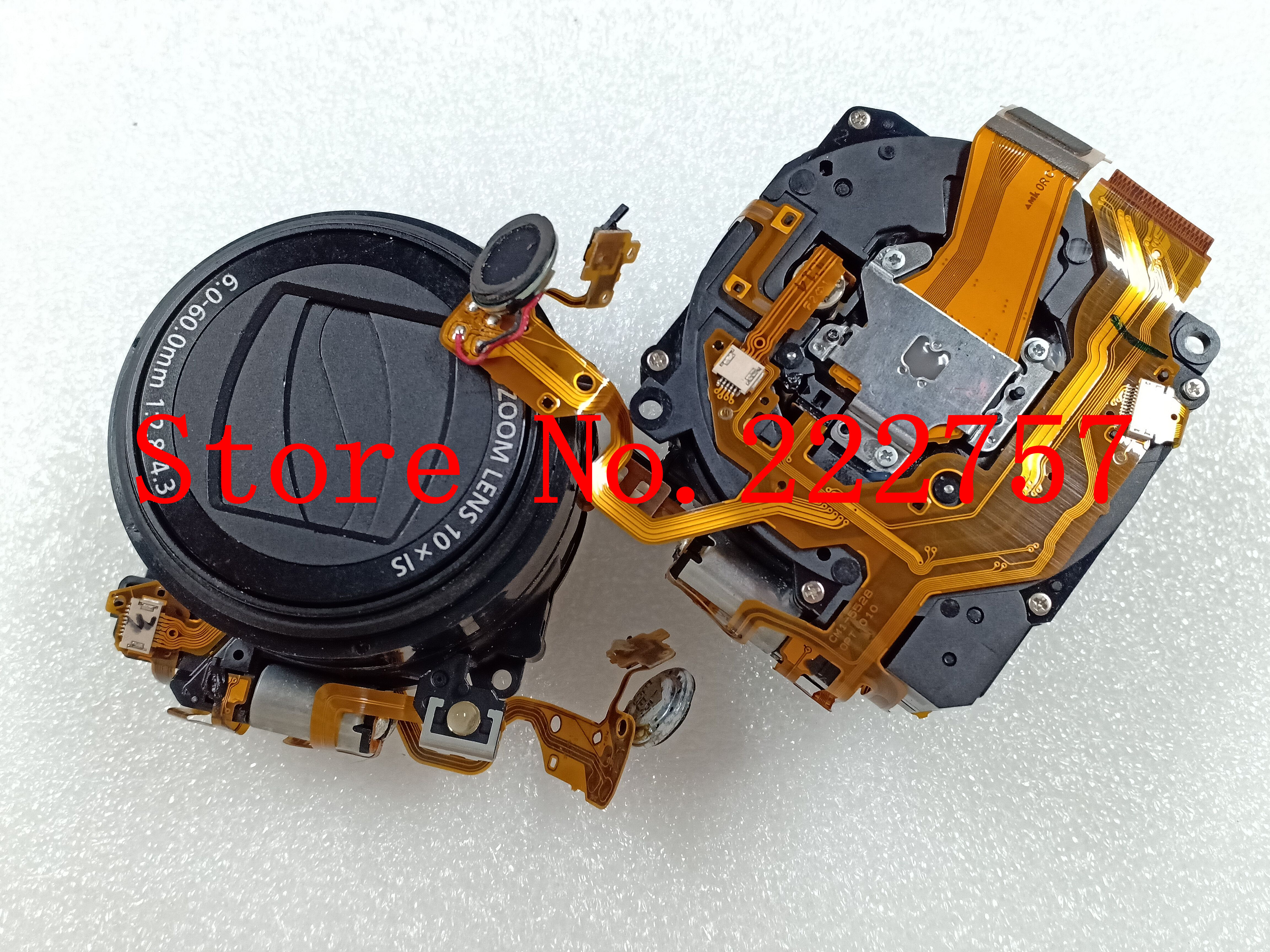 Original Lens Zoom Unit Part For Canon FOR Powershot SX120 IS Camera With Ccd
