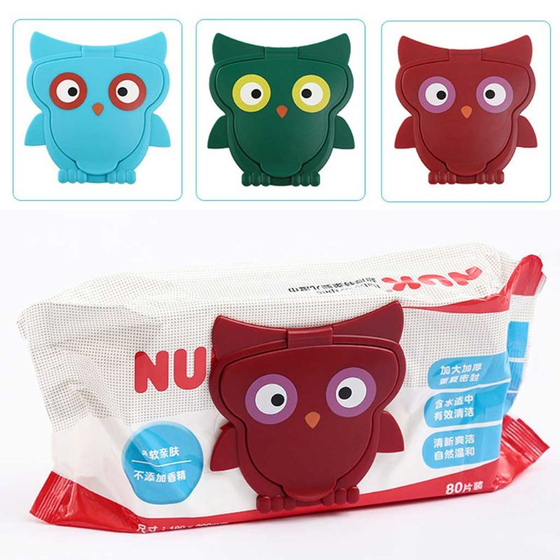 Reusable Baby Wipes Lid Wet Wipes Cover Portable Kids Wet Tissues Box Lid Useful 19QF