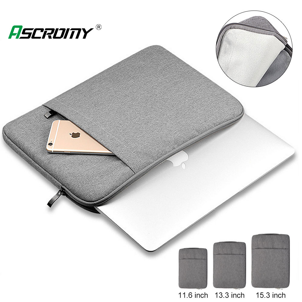 Waterproof Laptop Bag 11 12 13 15 inch Case For MacBook Air Pro 2018 2019 Mac Book Computer title=