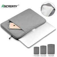 Wasserdichte Laptop Tasche 11 12 16 13 15 Zoll Fall Für MacBook Air Pro 2020 2019 Mac Buch Computer Stoff hülse Abdeckung Zubehör