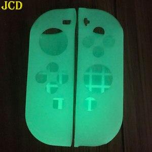 Image 5 - JCD 1 مجموعة مكافحة زلة سيليكون لينة حالة ل التبديل NS الغطاء الواقي الجلد ل Nintend التبديل الفرح يخدع تحكم التبعي