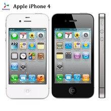 Quase novo usado apple iphone 4 smartphone duplo núcleo ips celular 8/16/32gb gps wifi desbloqueado icloud telefones celulares celulares
