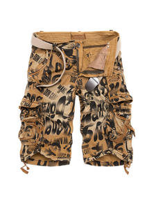 Camouflage Shorts Military Army Summer Mens New Loose Large-Size 29-40