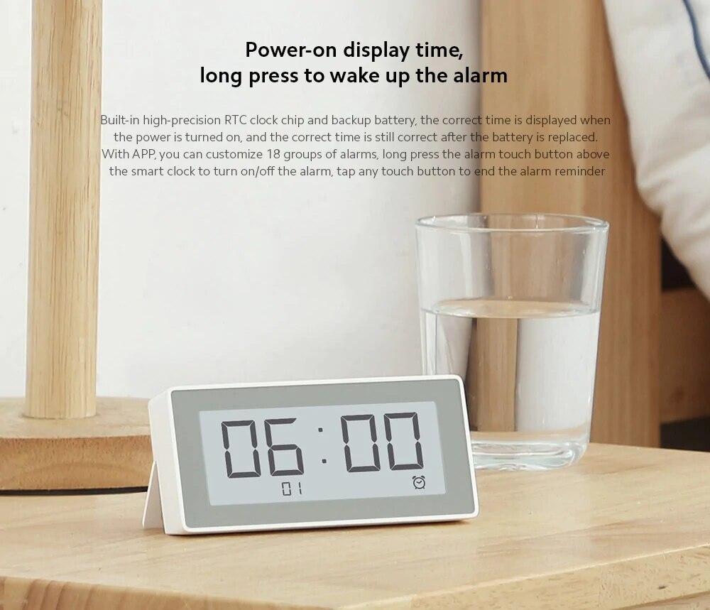 Original MiaoMiaoCe E-Link INK LCD Screen Digital clock Moisture Meter BT4.0 High-Precision Thermometer Temperature Humidity Sensor (15)