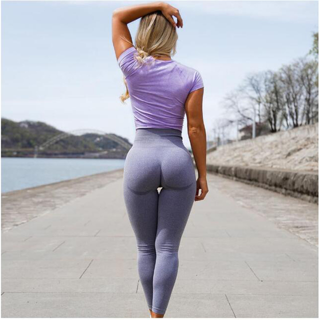 Women High Waist Push Up Leggings Hollow Fitness Leggins Workout Legging For Women Casual Jeggings Slimming Sport Pants 1
