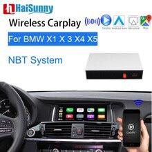 Wireless Apple Carplay Für BMW NBT X1 X3 X4 X5 2014-16 Unterstützung HD Touch Screen Multimedia Player Video interface GPS Navigation