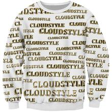 Men's Hoodies 3D Sweatshirts Cloudstyle Logo Sweatshirts for Men Hoodie 2019 Winter Men's Sportswear Hoodie цена в Москве и Питере