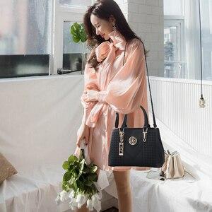 Image 5 - FGJLLOGJGSO التطريز حقيبة ساعي العلامة التجارية حقائب النساء والجلود الإناث Crossbody حقيبة كتف سيدة حقيبة اليد كيس بولسا الأنثوية