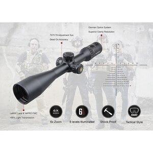 Image 2 - Тактический Оптический прицел Vector Optics Continental 4 24x50 SFP, HD стекло, 1/10 мил, 30 мм трубка, светильник пропускание 90%, подходит для 30 06 7,62