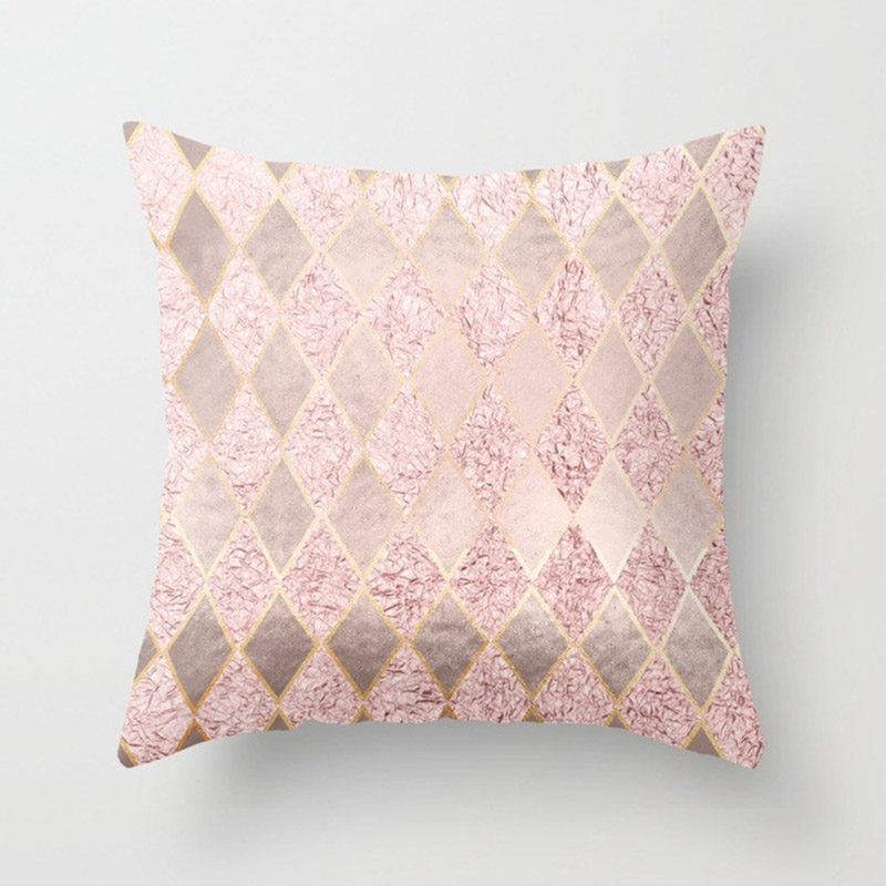 H40078335859c4a349c4dd10f87d2ea36P New 1PC Popular Cushion Case Geometric Tropic Pineapple Nordic Sofa Pink Pillow Decorative