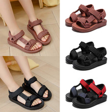 Kids Girls Casual Solid Sandals Kids Party Dress Wedding Dance Shoes