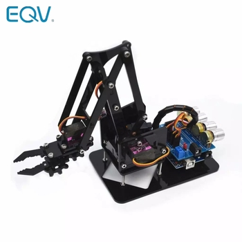 Garra manipuladora de brazo mecánico para Arduino, Robot acrílico SG90 MG90S 4...