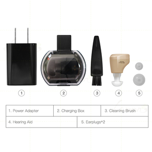 Image 5 - CN900B Mini şarj edilebilir işitme cihazları Mini işitme amplifikatörü kulak ses amplifikatörü işitme cihazları şarj edilebilir işitme cihazı