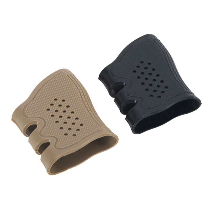 AR 15 Hunting Accessories Tactical Rubber Grip holder Glove Cover Gun Magazine Pouch For Glock G17 19 20 21 22 23 25 31 32 34 35 image