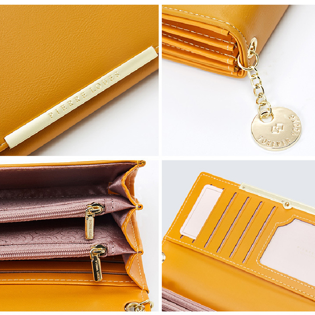 Leather Luxury Long Wallet
