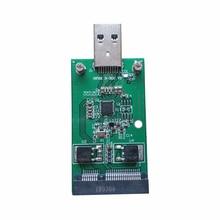 Module Msata Mini pci-E External Converter Expansion-Card Data-Transmission-Adapter Windows