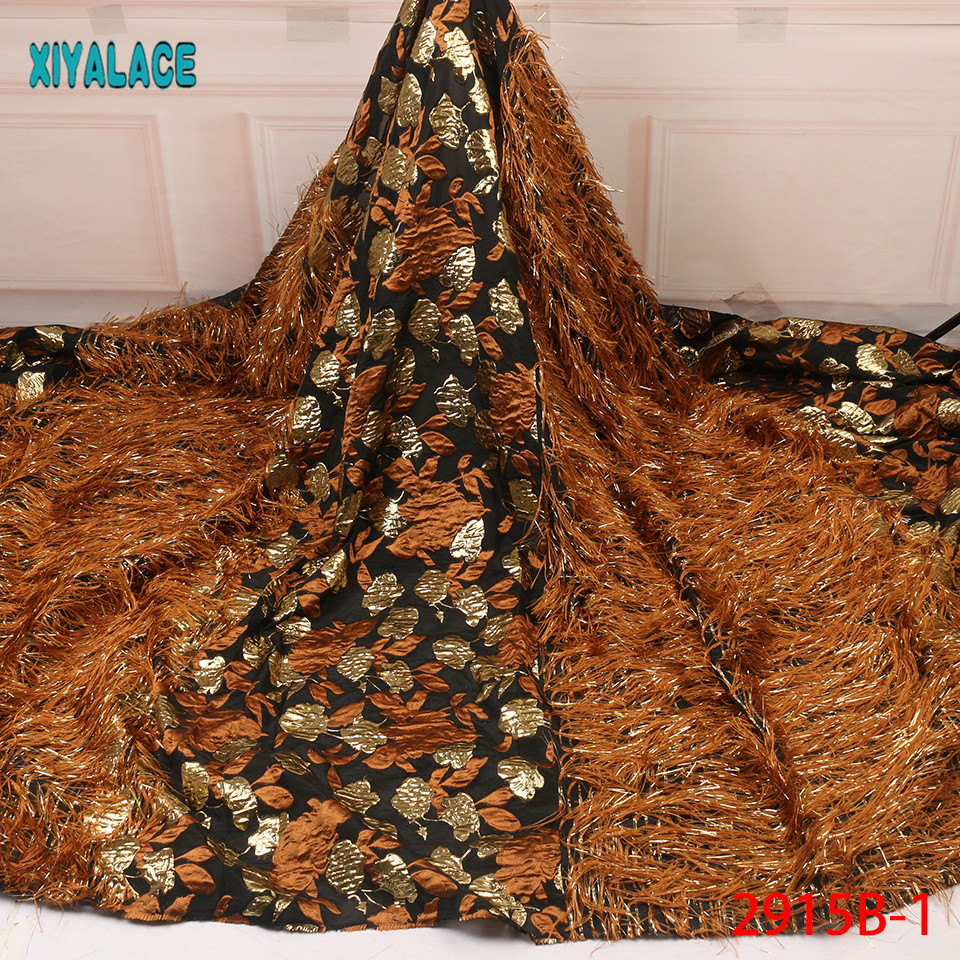 2019 African Lace Embroidered High Quality Switzerland Lace French Lace African Net Fabric French Bridal Lace For Dress YA2915B-1