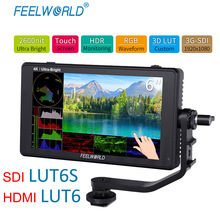Field-Monitor Touch-Screen 2600nits Feelworld Lut6s HDMI Lut6inch-Camera 4K 3G-SDI Dslr-Wave
