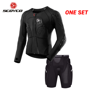 SCOYCO Motorcycle Jacket Prote