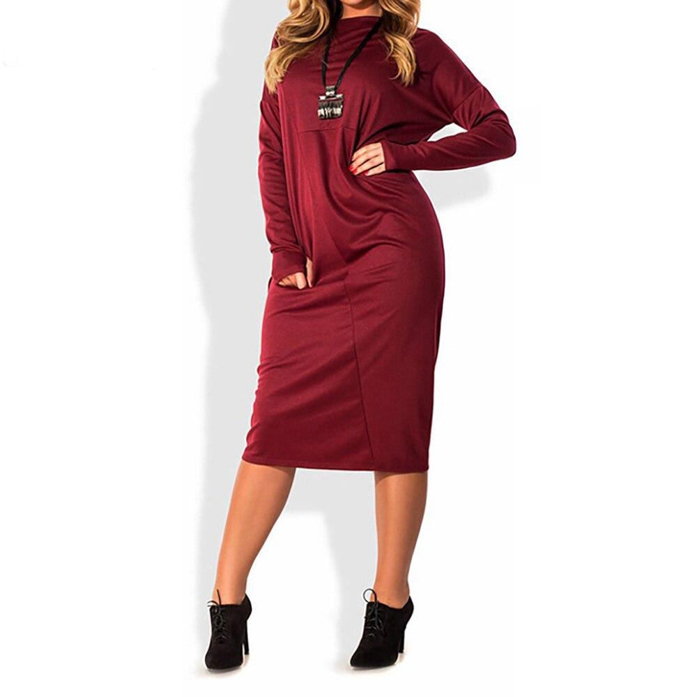 5xl 6xl plus tamanho vestido de primavera o pescoço vestido de renda manga longa em linha reta elegante vestidos sexy tamanho grande roupas femininas vestidos