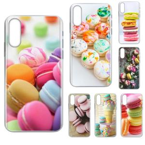 Soft TPU Protective Skin Dessert Ice Cream Laduree Macarons For HTC U11 Life Capa U11 Plus U 11 U12 Life