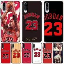 Jemy баскетбольный Джордан 23 DIY окрашенный блестящий чехол для телефона Samsung A10 20 30 40 50 70 10S 20S 2 Core C8 A30S A50S A7 8 9