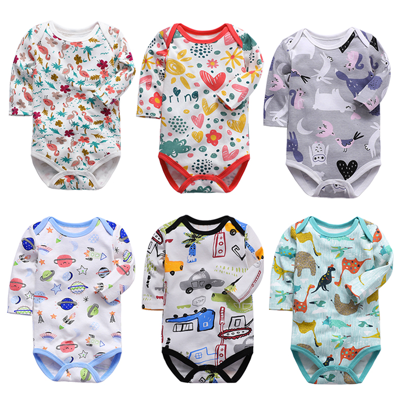 Baby Bodysuit Fashion 1pieces/lot Newborn Body Baby Long Sleeve Overalls Infant Boy Girl Jumpsuit Kid Clothes