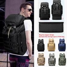 цена на 70L Stylish Travel Large Capacity Backpack Male Luggage Shoulder Bag Computer Backpacking Men Functional Versatile Bags