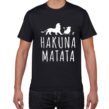HAKUNA MATATA tshirt men Breathable cotton Hipster t shirt m