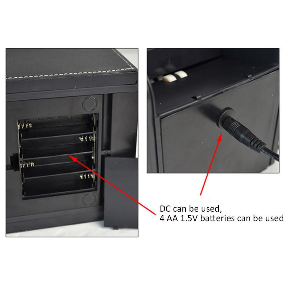 Balayeuse de cartes électronique automatique professionnelle 2 en 1 balayeuse de cartes Poker avec batterie - 6