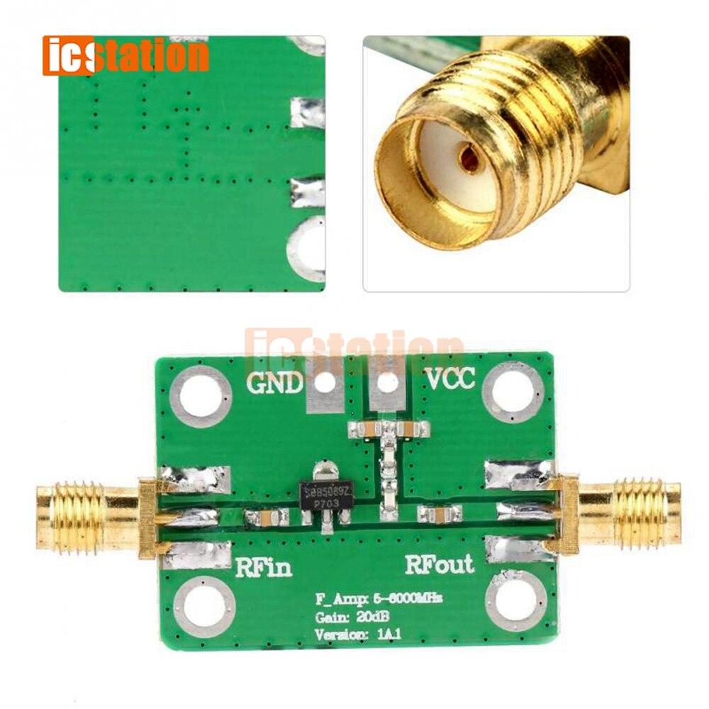 5M ~ 6GHz RF Amplificador De Señal De Banda Ancha Amplificador De Potencia De Pl