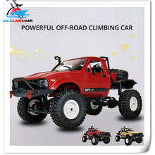WPL C14 C-14 1:16 Wireless RC Car 4WD 2.4GHz Remote Contral Crawler Off-Road Cars Buggy Model Toys For Children Gifts Carro RTR