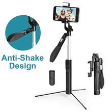 Cardán de Control remoto con Bluetooth, palo de Selfie estabilizador con luz LED, trípode de grabación de vídeo para iPhone y Android, transmisión en vivo