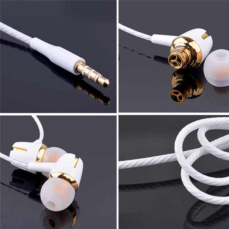 หูฟังแบบมีสายหูฟังE18 ปรับปริมาณหยุดชั่วคราว/เล่นสำหรับHuawei Xiaomi Honor 3.5 มม.หูฟังชุดหูฟังสำหรับสมาร์ทโฟน